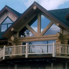 Watson's Log Homes project